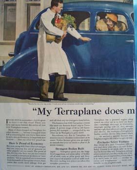 Hudson Terraplane Economizes For Me Ad 1936