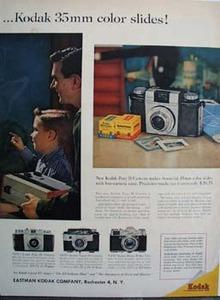 Eastman Kodak  Ed Sullivan Ad 1959