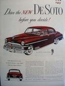De Soto Drive Before You Decide Ad 1950