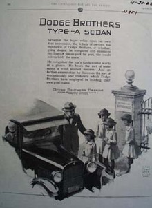 Dodge And St Stephans Orphanage Ad 1925
