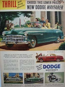 Dodge Thrill With Young America Ad 1949