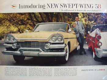 Dodge So Advanced Leaves Others Behind Ad 1957