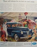 Ford At The Circus Ad 1941