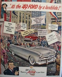 Ford By A Landslide Ad 1948