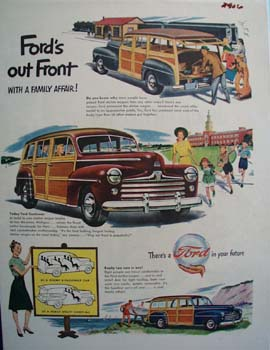 Ford Family Affair Ad 1977