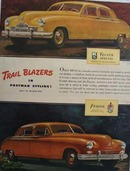 Kaiser Frazer Trail Blazers Ad 1946