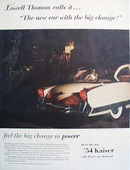 Kaiser Big Change In Beauty Ad 1954