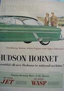 Hudson Hornet Hollywood Hardtop Ad 1953