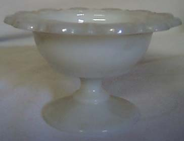 Anchor Hocking Lace Edge compote