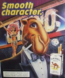 Camels And Joe Camel And Showgirl Ad 1989