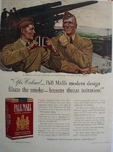 Pall Mall Yes Colonel Ad 1941