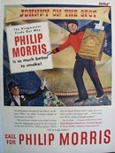 Philip Morris Johnny On the Spot Ad 1947