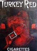 Turkey Red Cigarettes Ad 1950