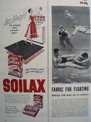 Soilax It Is Easy Ad 1954