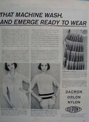 DuPont Fibers Pioneer New Fashion Ad 1958