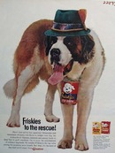 Friskies And Rescue Dog Ad 1961