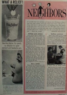 Alka Seltzer What A Relief Ad 1963
