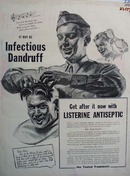 Listerine Antiseptic Dear Mom Ad  1943