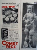 Comet Rice Easter Ad 1954