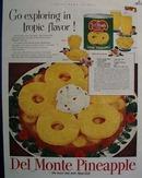 Del Monte Pineapple Go Exploring Ad 1952