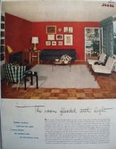 Room Flooded With Light Ad 1952
