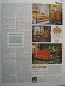Heywood Wakefield Furniture Home Planned Ad 1952