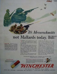Winchester Its Messerschmitts Ad 1942