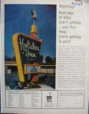 Holiday Inn Traveling Ad 1961
