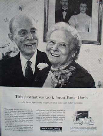 Parke Davis This Is What We Work For Ad 1958