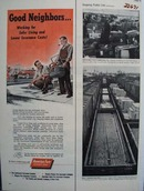 American Fore Insurance Good Neighbors Ad 1954