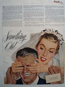 New York Life Insurance Something Old Ad 1952
