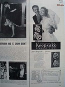 Keepsake Diamonds Your Keepsake Forever Ad 1954