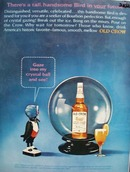 Old Crow Theres A Bird In Your Future Ad 1965