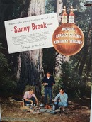 Sunny Brook Cheerful As Its Name Ad 1954