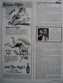 Ten High Whiskey High Wind High Ad 1943