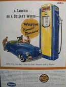 Wayne Gas Pump Honest Measure Ad 1940
