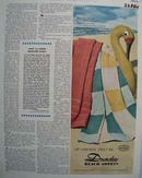 Dundee Beach Sheets Ad 1952