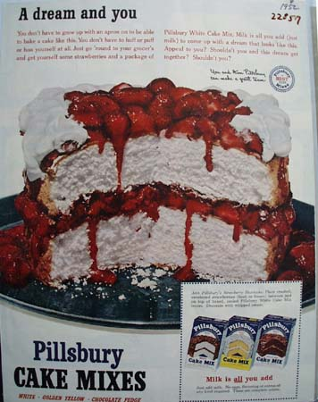 Pillsbury A Dream And You Ad 1952