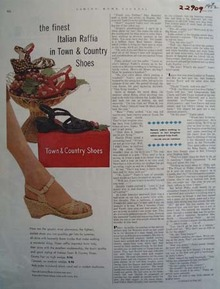 Town And Country Shoes The Finest Ad 1952