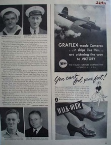 Walk Over Shoes Can Not Fool Your Feet Ad 1943