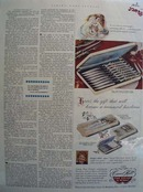 Carvel Hall Steak Knives Treasured Heirloom Ad 1952