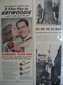 Kaywoodie Pipes Fathers Day Ad 1955