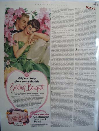 Cashmere Bouquet Soap Exciting Bouquet Ad 1952