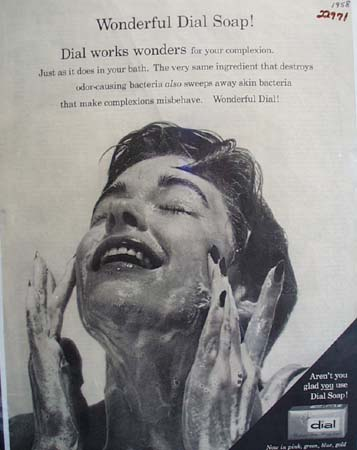 Dial Soap Real Mildness Ad 1958