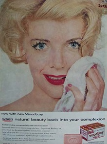 Woodbury Soap Wash Natural Beauty Ad 1959