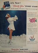 Ivory Snow Beauty Glow Ad 1950
