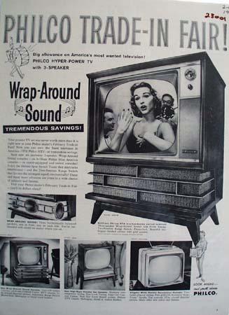 Philco Trade In Fair Ad 1958