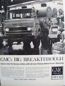 GMC Trucks Big Breakthrough Ad 1960