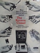 Ronson Lighter Introduces the Ronson Comet Ad 1965