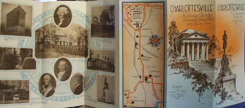 Charlottesville Brochure 1940s
